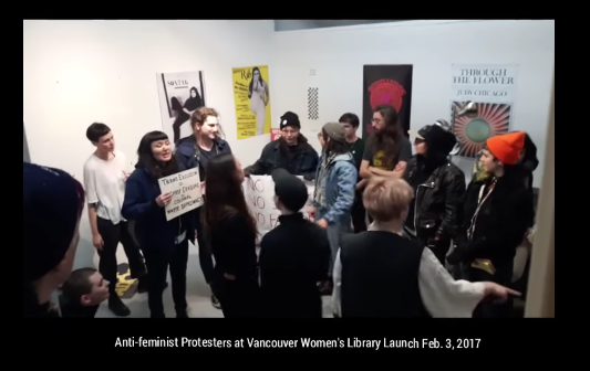 trans-activists-disrupt-vancouver-women-s-library-opening-cringe-warning-youtube3