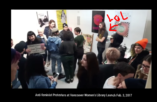 trans-activists-disrupt-vancouver-women-s-library-opening-cringe-warning-youtube4