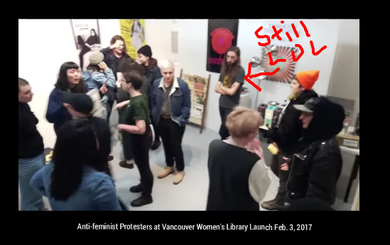 trans-activists-disrupt-vancouver-women-s-library-opening-cringe-warning-youtube5
